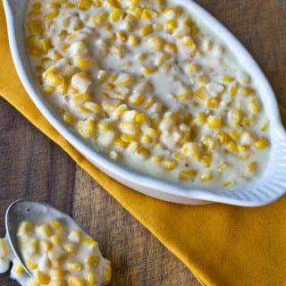 Lawry's famous creamed corn.