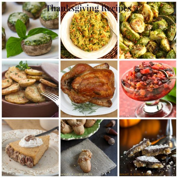Thanksgiving recipe inspiration is easy to find in this collection of Thanksgiving recipes.