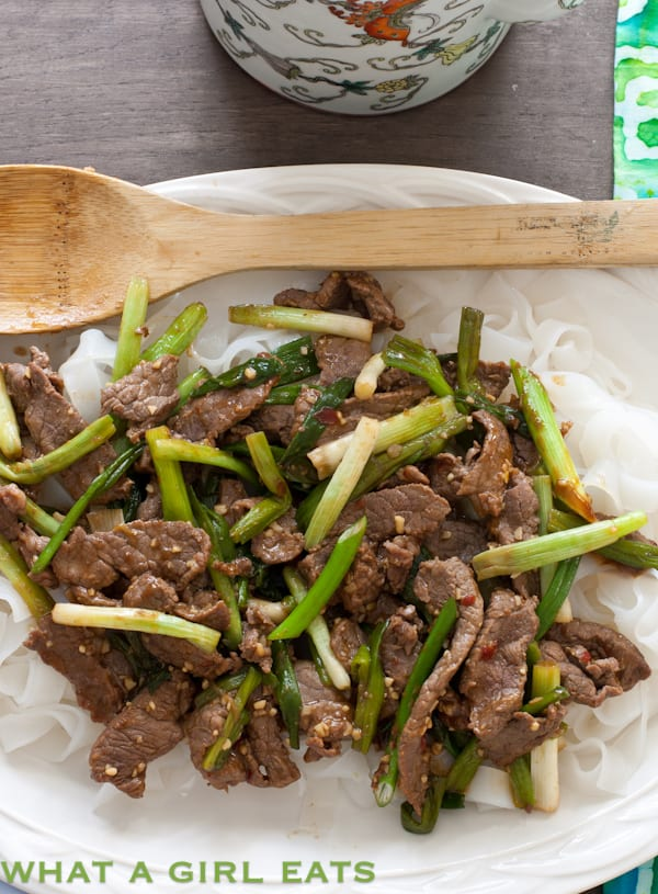30 minute mongolian beef what a girl eats 30 minute mongolian beef forumfinder Gallery