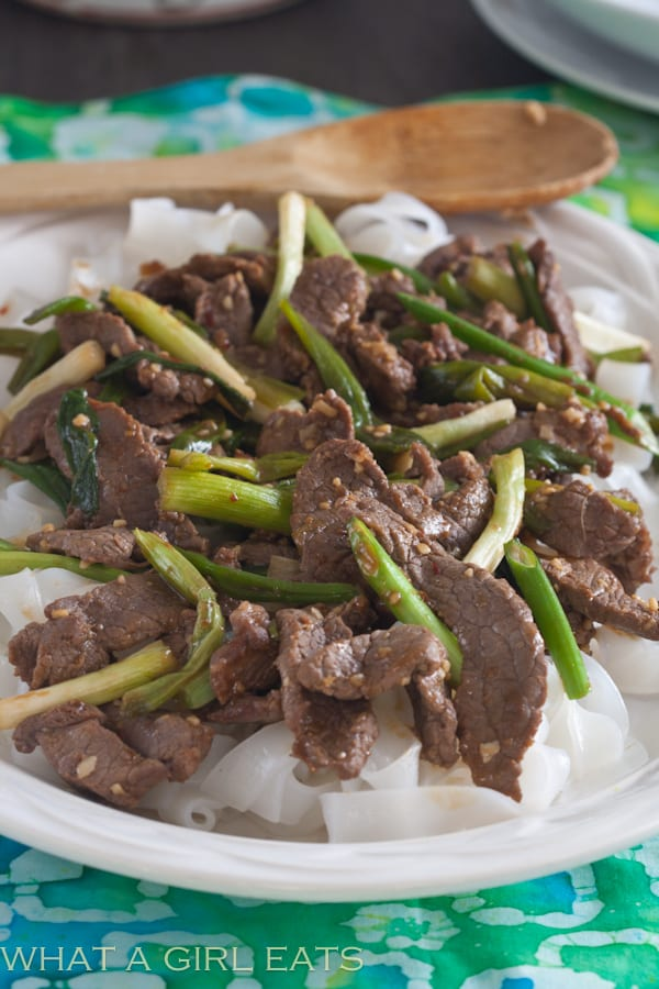 Mongolian Beef, made in 30 minutes!