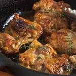 Apricot-Ginger Glazed Chicken