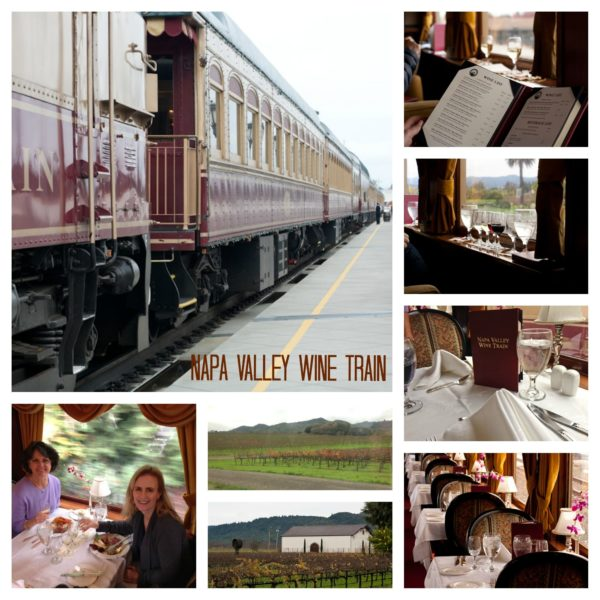 Napa Valley Wine Train.