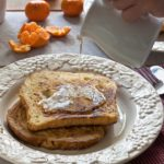 Simple Honeyed French Toast. @whatagirleats.com