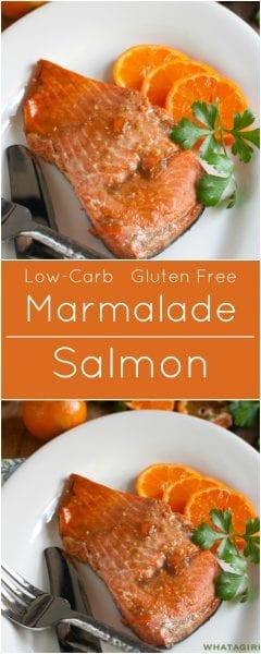 Salmon Marmalade Gluten free low-carb