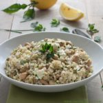 Mediterranean Rice Salad With Herbs And Feta