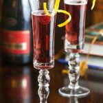 Tea at the Langham Huntington and Kir Royale Recipe