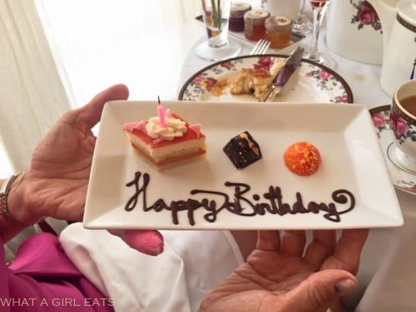 Even birthdays are special at the Langham.
