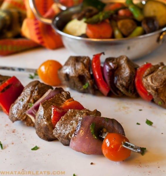 Moroccan Beef Kebabs
