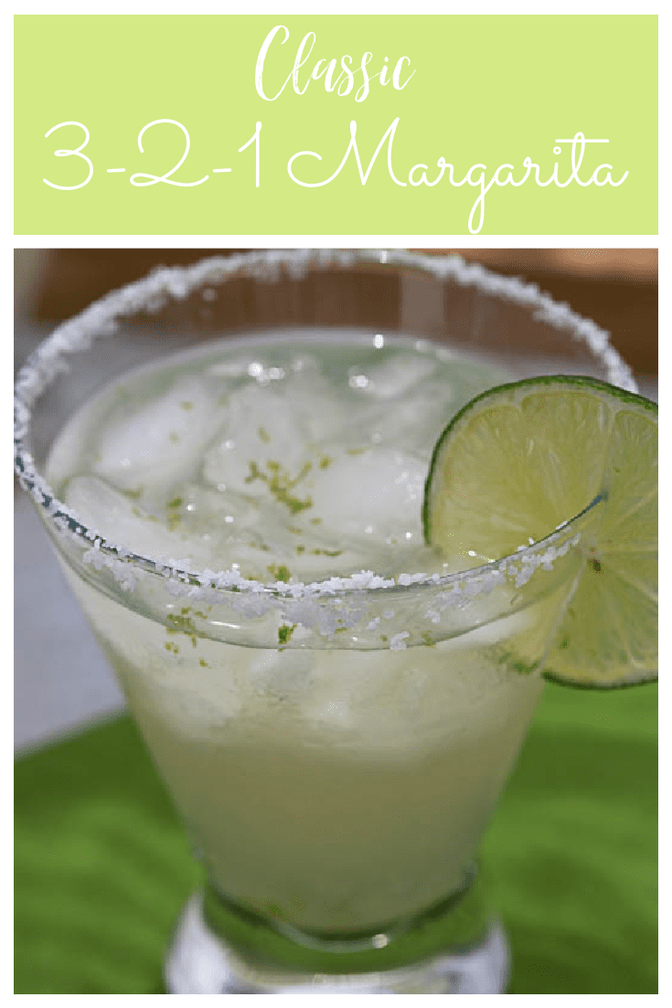 This recipe for a 3-2-1 Margarita is all you'll ever need to make 1 or 100 Margaritas!