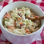 Creamy cole slaw, the perfect picnic side dish!