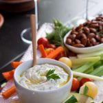 This creamy dip is the perfect accompaniment to veggies or crackers