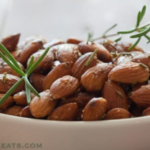 Whole30. Keep these easy Rosemary Almonds on hand for a quick addition to a tapas platter.