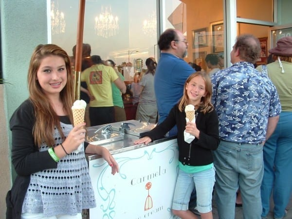 "This was taken in 2011, when Carmela's had just opened, it was my then 10 year old daughter, Sophie, (right) who told me that I ""HAD to try Carmela""."