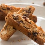Cherry Almond Chocolate Chip Biscotti
