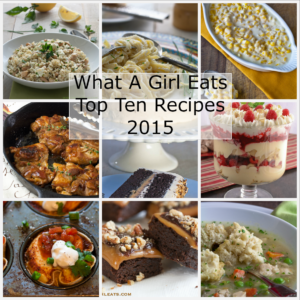 What A Girl Eats, Best of 2015