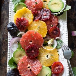 Winter Citrus Salad with Orange Dijon Vinaigrette