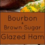 Gluten free Bourbon and Brown Sugar Glazed Ham.