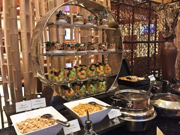 Fairmont breakfast buffet.