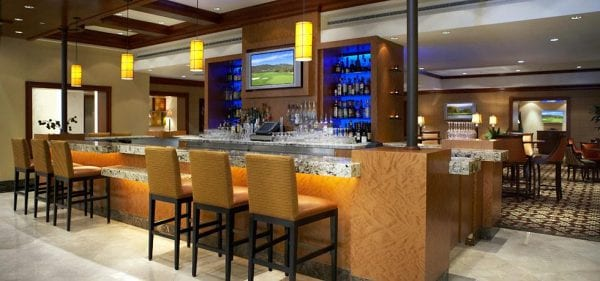 AVO bar and restaurant. Photo courtesy of the Fairmont Hotel.