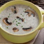 Chef Bernard's Wild Mushroom Soup