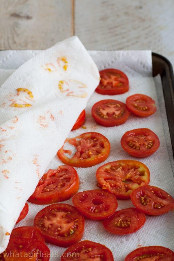 Tomatoes-purging-liquid
