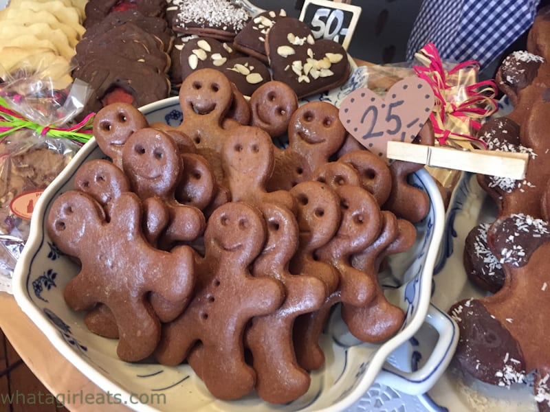 Gingerbread cookies in Prague.