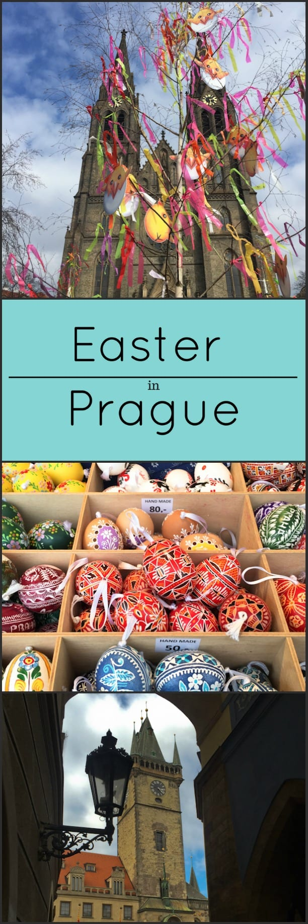Easter in Prague, Czech Republic.