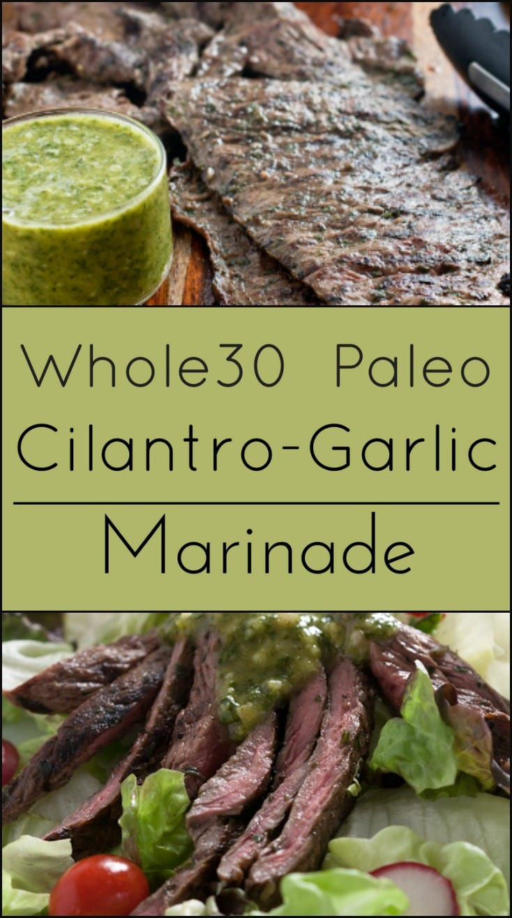 Whole30 Compliant Marinade for steak. Gluten Free and Paleo.