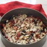 grain and gluten free fresh berry cake.
