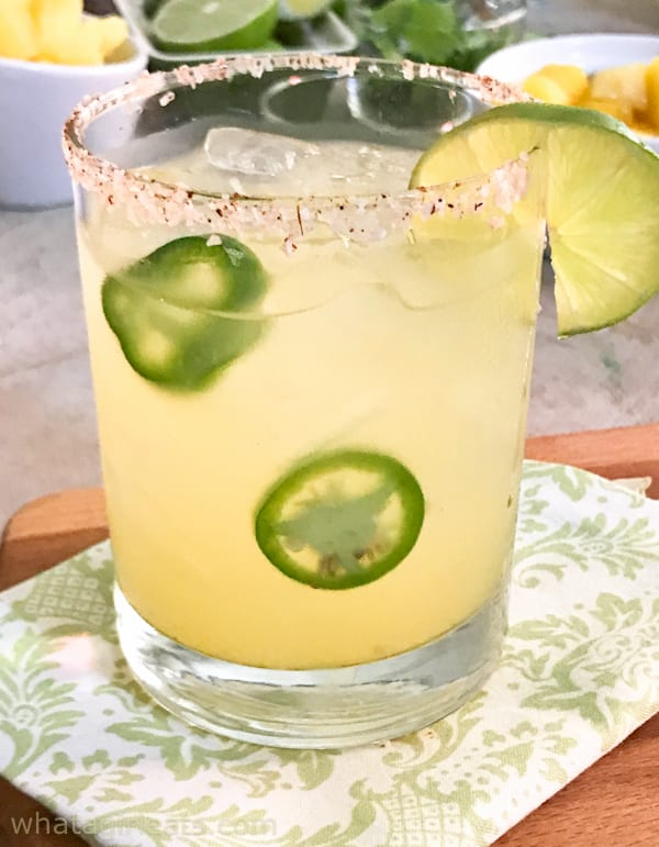 How To Throw The Perfect {Make Your Own} Margarita Party! Mango-Chile-Lime Margarita.
