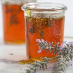 Lavender honey makes a sweet hostess gift!