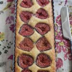Gluten free Fig and Walnut Tart.