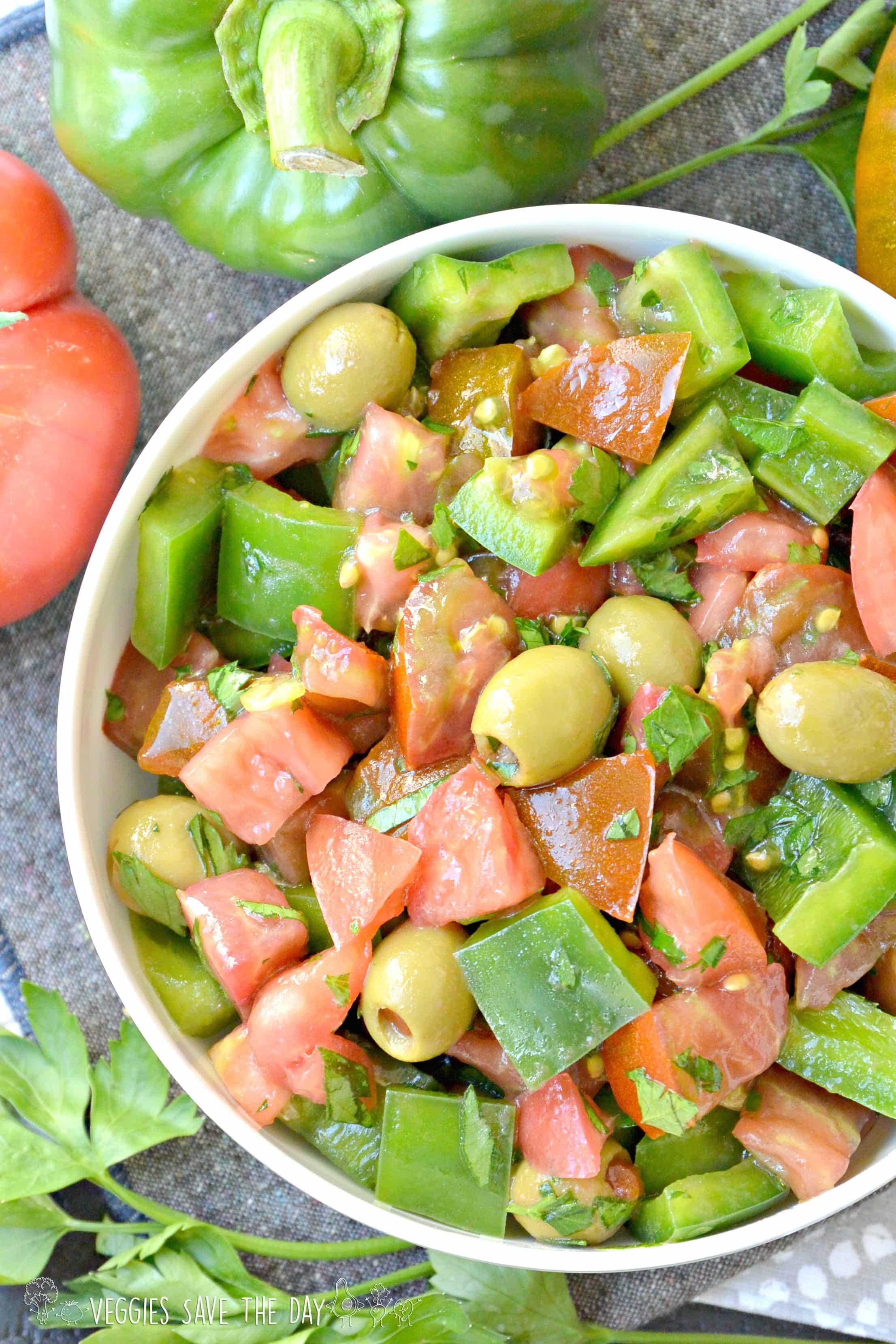 tomato bell pepper