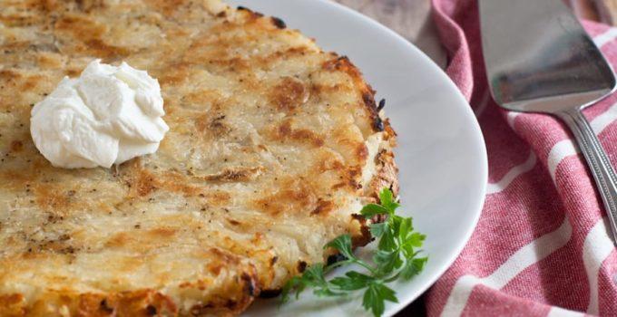Swiss Potato Rosti With Salt And Vinegar