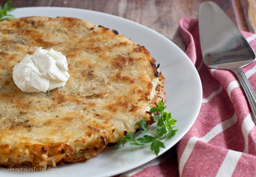 Swiss Potato Rosti Salt Vinegar