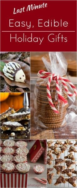 Inexpensive Holiday Gift edible