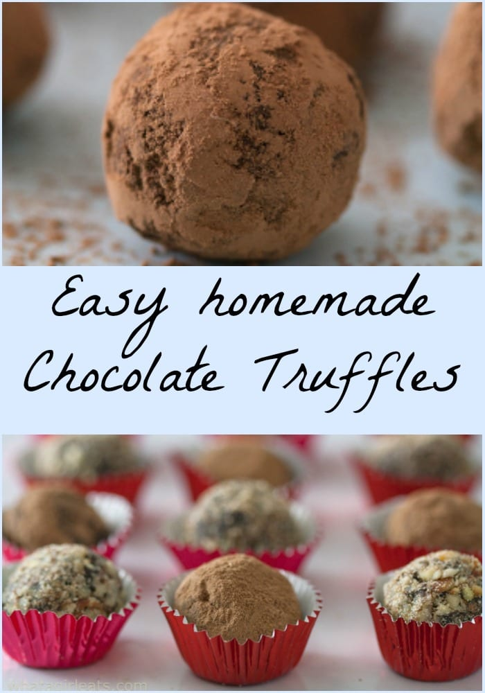 Chocolate Truffles Ganache