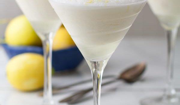 Lemon Syllabub {The Hamilton Cookbook}