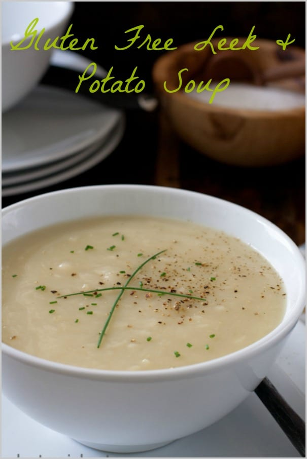 Gluten Free Leek Potato Soup