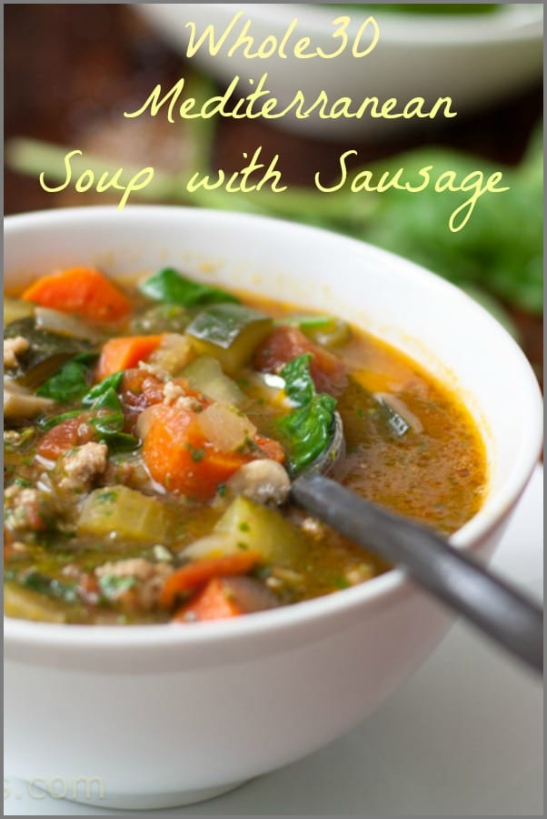 Whole30 Soup Sausage