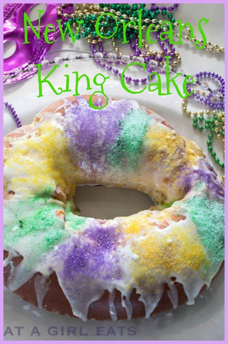 King cake pin