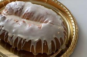 King cake glaze
