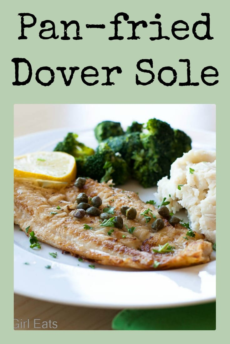 Pan-fried Dover sole is ready in under 20 minutes and is a delicious addition to an healthy meal plan. #lowcarb #doversole #fishfridays #fish #easyfish #ketorecipes #onpanmeal #fishrecipe #healthyrecipe