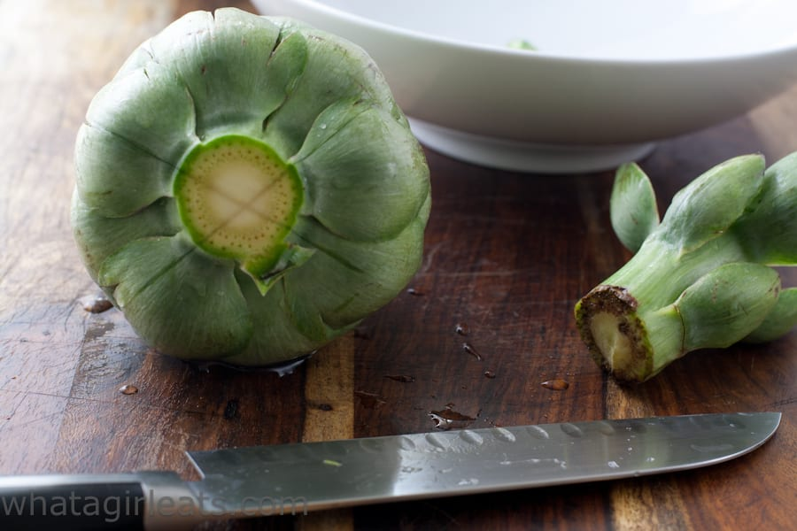 artichoke bottom
