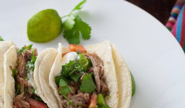 Green Chile Pork {Slow Cooker Recipe}