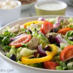 Quick Greek Gyros Salad
