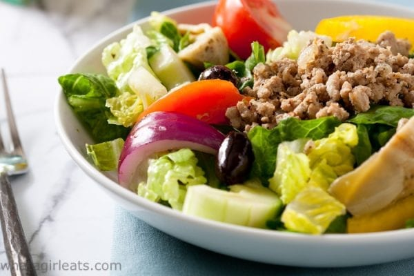 Paleo Greek Gryo salad