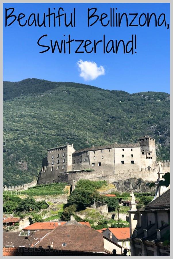 Bellinzona, Switzerland a UNESCO World Heritage Site.