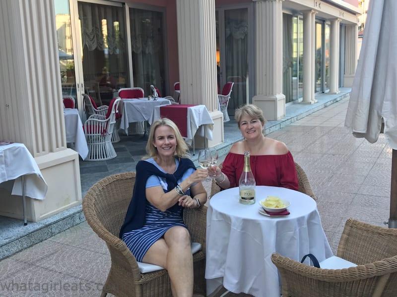 terrace Hotel de la paix lugano