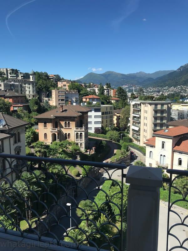 view from hotel de la paix